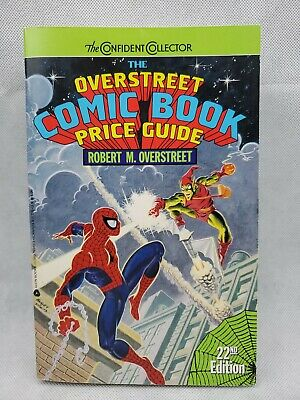 MARVEL COMIC BOOK PRICE GUIDE 22nd Edition 1990 OVERSTREET Spiderman (eb34 • 6.44£