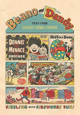 Beano And The Dandy Classic Comic Covers 1937-1988 (phil-comics) • 14.95£