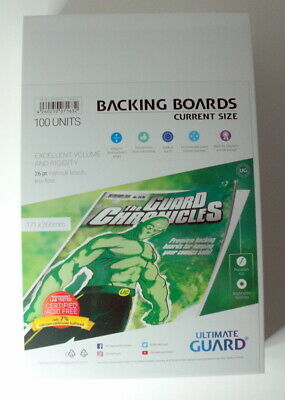 Ultimate Guard Backing Boards Verstärkung Comics Current Size 171x266mm Einlage  • 22.58£