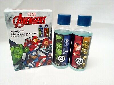Avengers 100ml Shower Gel And 100ml Shampoo And Conditioner • 1.50£