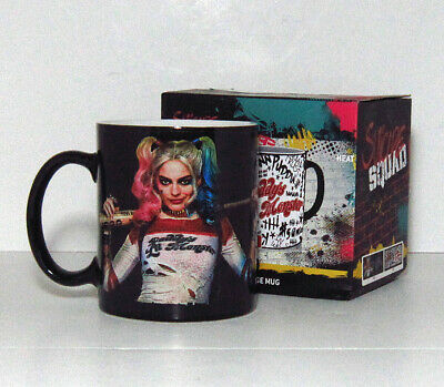DC Suicide Squad Harley Quinn Daddy's Lil Monster Heat Change Mug Collectable • 10£