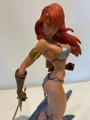 Red Sonja Dynamic Forces J Scott Campbell Diamond Eyes Statue  # 76 Amricons • 250£