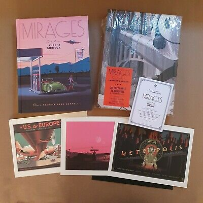 Mirages: The Art Of Laurent Durieux Special Edition Book COA With Prints • 120£