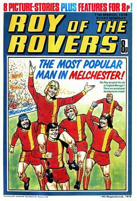 ROY OF THE ROVERS COMICS + ANNUALS + SPECIALS On 4  DVD ROM 569 ISSUES • 4.80£