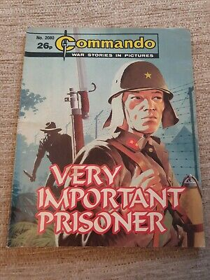 Commando War Stories In Pictures, Issue No. 2080 Very Important Prisoner • 2£