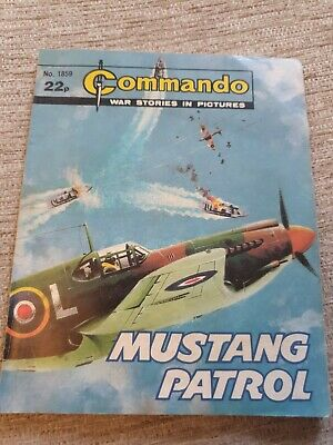 Commando War Stories In Pictures, Issue No. 1859 Mustang Patrol • 2£