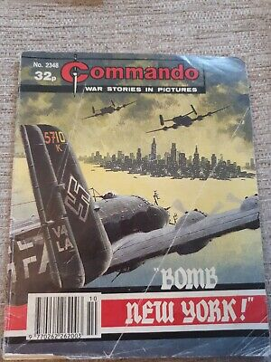 Commando War Stories In Pictures, Issue No. 2348 Bomb New York • 2£