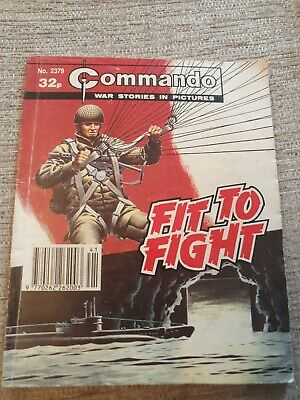 Commando War Stories In Pictures, Issue No.2379 Fit To Fight • 2£