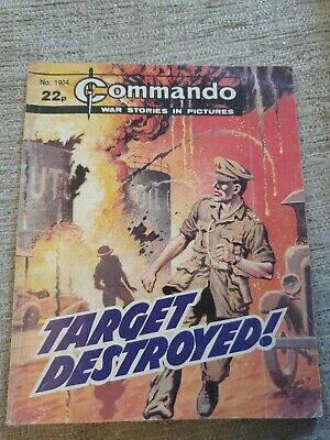 Commando War Stories In Pictures, Issue No. 1904 Target Destroyed • 2£