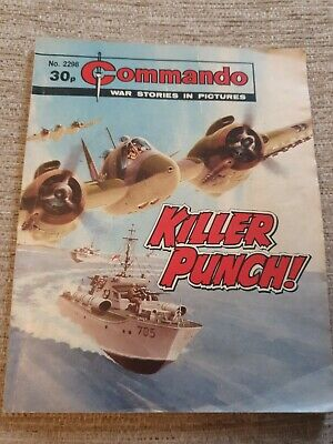 Commando War Stories In Pictures, Issue No. 2298 Killer Punch • 2£