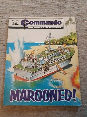 Commando War Stories In Pictures, Issue No. 2302 Marooned • 2£