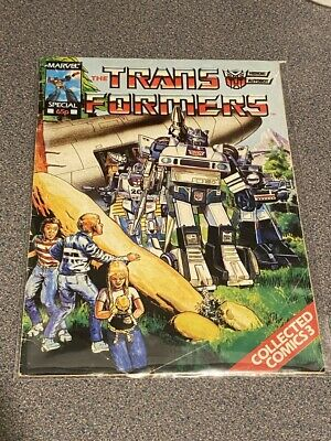 TRANSFORMERS G1 UK Marvel Comics # 3, MARVEL SPECIAL Collected Comics 1980's • 4.99£