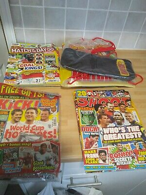 Selection Of Match Shoot Kick Match Of The Day Football Magazines • 3.50£