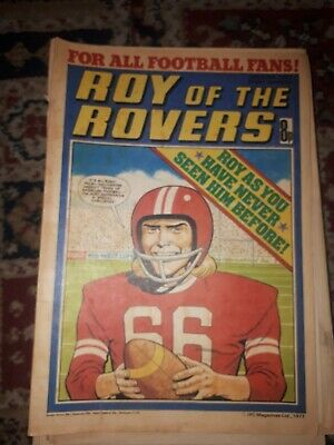 Roy Of The Rovers 25 June 1977 • 2.99£