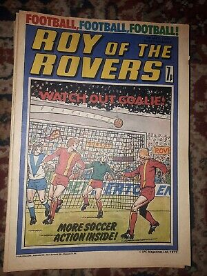 Roy Of The Rovers 7 May 1977 • 2.99£