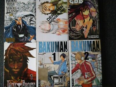 Shonen Manga Bundle 6 Books - Various Authors • 2.80£