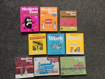 Modern Toss Book & Magazine Collection (nine Books) • 15.50£