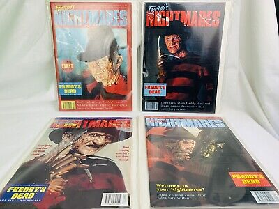 Freddys Nightmares Comic Strips 1992 #1.2.3.4 Bagged & Boarded • 50£