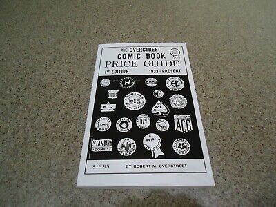 The Overstreet Comic Book Price Guide #1 Reproduction By Robert Overstreet • 22.99£