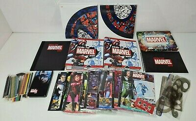 Hachette Partworks Draw The Marvel Way 1-37 Magazines + 2 Binders Lots Of Extras • 49.99£