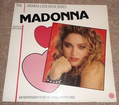 Madonna - Anabas Look Book Series 12 X12  Colour Story In Words And Pictures • 5£