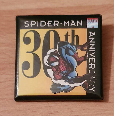 **SPIDER–MAN** 30th Anniversary Badge/Pin/Button-Marvel Entertainment Group,1992 • 4.99£