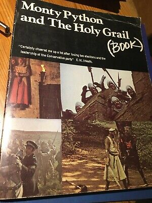 Monty Python And The Holy Grail Book - Methuen London File Copy - Good For Age • 5£