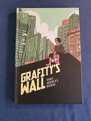 GRAFITY'S WALL By RAM V UNREAD GRAPHIC NOVEL - SEE PICS • 2.99£