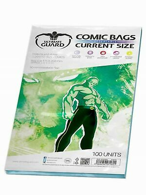 Comic Bags Resealable (Current Size, Pack Of 100) • 16.07£