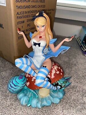 Sideshow J. Scott Campbells Alice In Wonderland Exclusive Statue Minor Damage • 250.34£