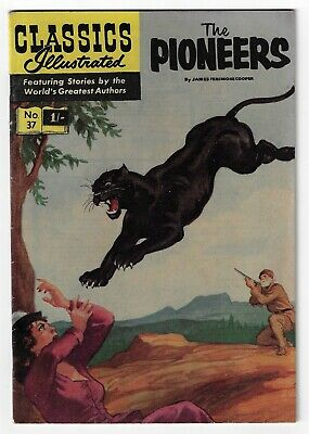 Classics Illustrated #37 The Pioneers Excellent • 35£