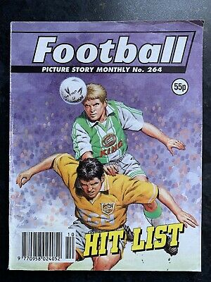 Football Picture Story Monthly Comic Vintage - Number 264 - Rare Issue • 4.99£
