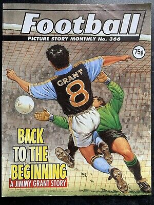 Football Picture Story Monthly Comic Vintage - Number 366 - Rare Issue • 7.99£