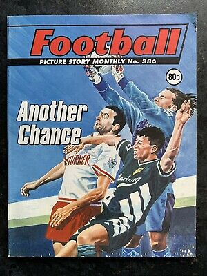 Football Picture Story Monthly Comic Vintage - Number 386 - Rare Issue • 7.99£