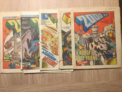 2000 AD Progs 19-29 5 Issues  • 19.99£