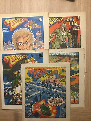 2000 AD Progs 91-99 5 Issues • 14.99£