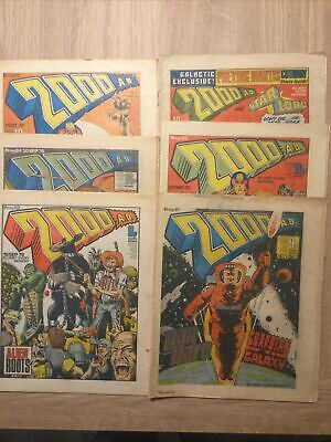 2000 AD Progs 81-89 6 Issues • 14.99£