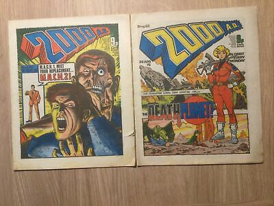 2000 AD Progs 60 And 62 • 4.99£