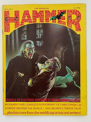 The House Of Hammer Magazine Volume 1 Issue 1 Comic And Films Review Format Rare • 29.99£