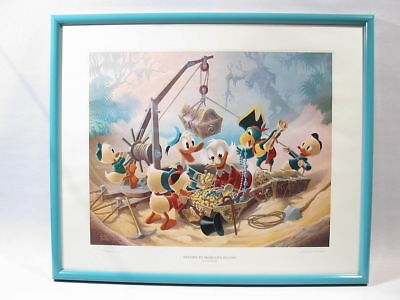Barks Lithographie  Return To Morgans Island  Signiert • 1,003.03£
