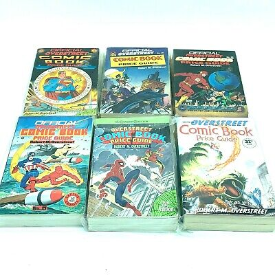 Overstreet Comic Book Price Guide Lot Of 6 Numbers 18 - 22 And 31 • 28.60£