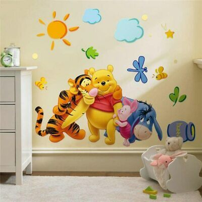 Wall Stickers Decor For Kids Room Bedding Wall Decal DIY Art Wallpaper • 8.72£