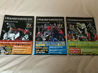 Transformers Generations 2009 Volumes 1, 2 And 3 • 35£