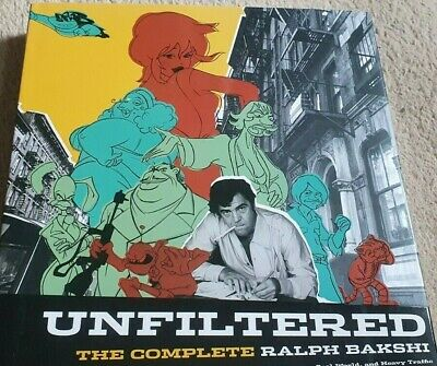 Unfiltered: The Complete Ralph Bakhi Hardcover 2008 • 42.99£