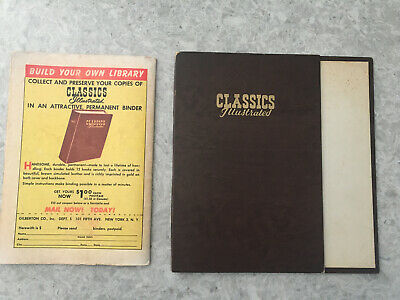 Classics Ilustrated: BINDER For 12 Issues (USA Edition) Finely Used. RARE! • 2.49£