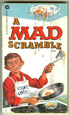 Mad Paperback A Mad Scramble First Printing 1977  • 1.99£