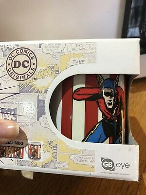 The Flash (golden Age) Official DC Mug In Box • 2.50£