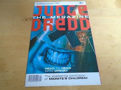 Judge Dredd The Magazine 5th February 1991 • 1.99£