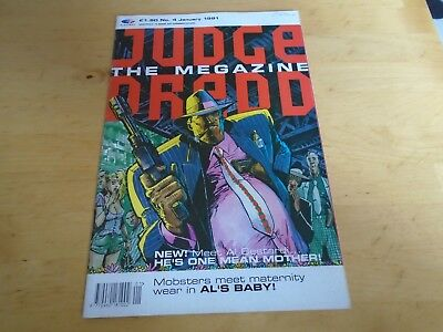 Judge Dredd The Magazine 4th January 1991 • 1.99£