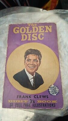 1960s Golden Disc Pop Book, Featuring Elvis, Cliff & Many Others By Frank Clews • 0.99£